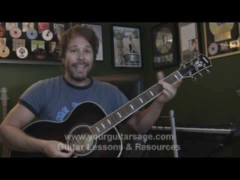 Guitar Lessons - I Won't Back Down by Tom Petty - cover chords lesson Beginners Acoustic songs