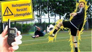 WM 2018 ELEKTROSCHOCKER FUßBALL CHALLENGE!!!