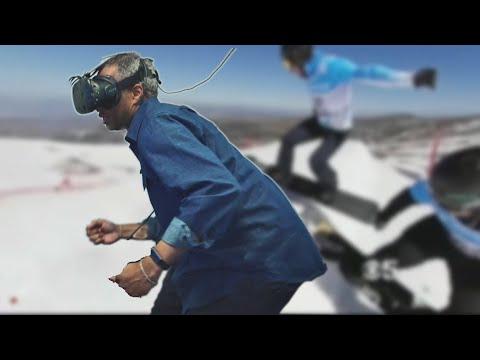 Menlo Park VR Company Helps U.S. Olympics Team Train on Virtual Slopes