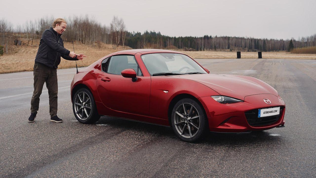 4k Mazda Mx 5 Rf Retractable Fastback Testdrive In Swedish