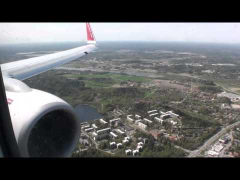 Welcome to Finland!!!  Awesome HD 737 Landing at Helsinki Vantaa!!!