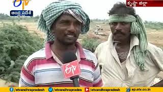 Sand Shortage  Tractor Drivers Face Problems  Valluru Of Krishna Dist
