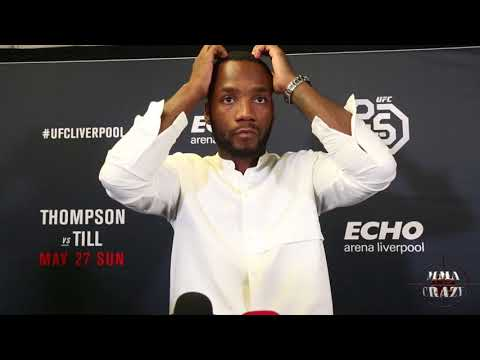 Leon Edwards talks on Mike Perry using the N word & upcoming Donald Cerrone fight