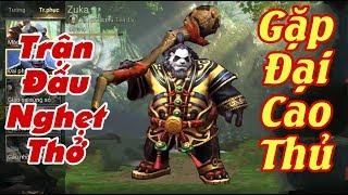 [Gcaothu] Trận rank nghẹt thở khi gặp đại cao thủ - Chơi zuka nhịn nhục late game