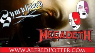 Megadeth Symphony X Style Jam Backing Track