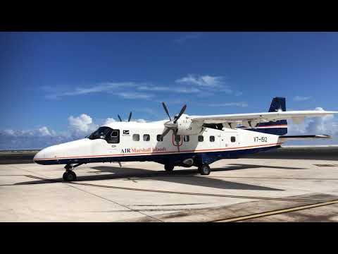ドルニエ228 エンジンスタート Air Marshall Islands