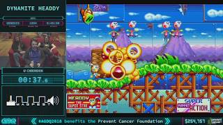 Dynamite Headdy by chronoon in 39:51 - AGDQ 2018 - Part 45