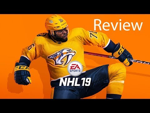NHL 19 Xbox One X Gameplay Review
