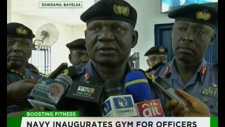 Nigerian Navy Inuaugurates Gym for officers