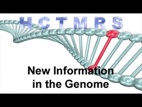 How Creationism Taught Me Real Science 53 New Information in the Genome