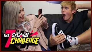 AMANDA STEELE 7 SECOND CHALLENGE W/ JAKE PAUL!