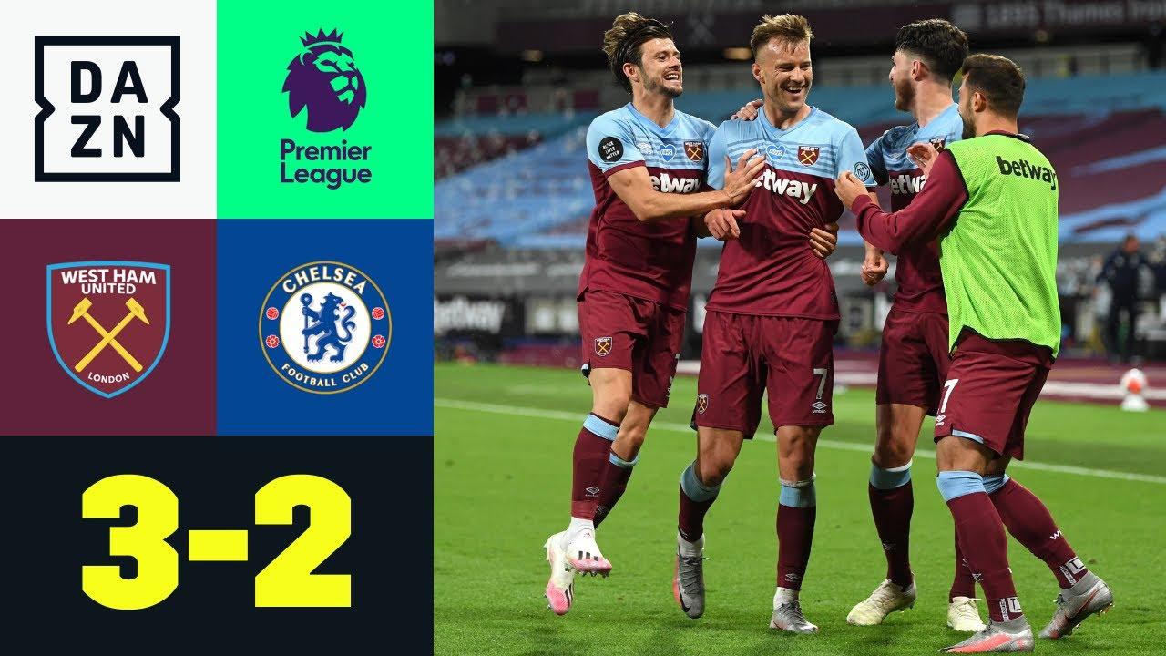 West Ham United vs Chelsea (3-2) | Resumen y goles | Highlights Premier League