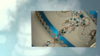 Indian Jewellery Wedding Cake - Kavita & Sab