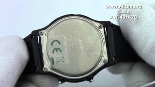 мужские японские наручные часы casio aw 49h 7b