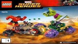 конструктор Lego Hulk vs. Red Hulk 76078 обзор