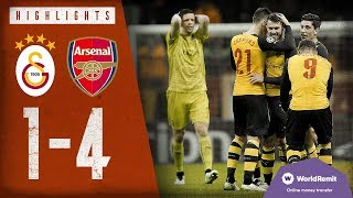 🚀aaron Ramsey With A Rocket! | Galatasaray 1-4 Arsenal | Highlights | Dec 9, 2014