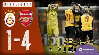 🚀AARON RAMSEY WITH A ROCKET! | Galatasaray 1-4 Arsenal | Highlights | Dec 9, 2014