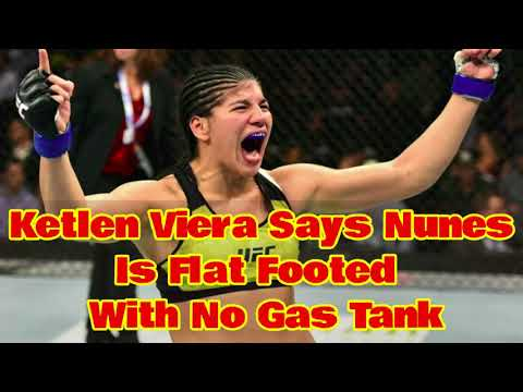 Ketlen Viera Calls Nunes Flat Footed With No Gas Tank!