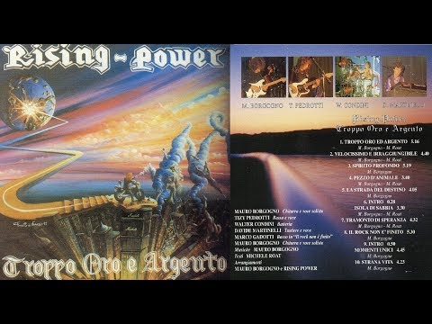 Rising Power - Troppo Oro E Argento (1992) full album hardrock heavymetal