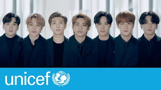 BTS return to the United Nations | UNICEF