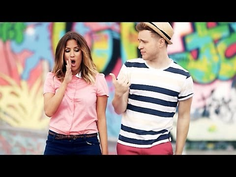 Olly Murs Teaches Caroline Flack How To Be A Popstar! - The Xtra Factor - The X Factor UK 2012