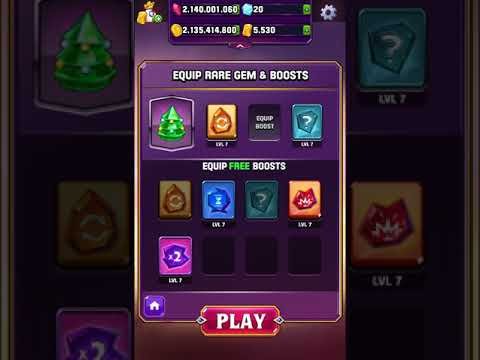 Rare Gem and Boosts only game - Bejeweled Blitz