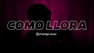 Play Como Llora (Versión Salsa)