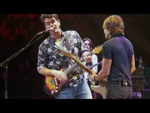 John Mayer with Keith Urban -Don't Let Me down