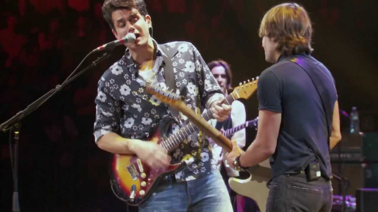 Download John Mayer with Keith Urban -  Don't Let Me down