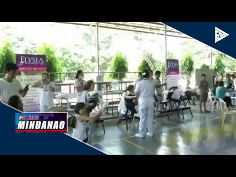 NEWS BREAK: Kapin 500 ka indibidwal, nakabenepisyo sa health and wellness fair sa NFEM thumbnail