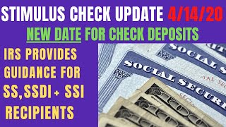 Stimulus checks update - the irs deposited and says 80 million people will it in their accounts tomorrow april 15. provides direction on using the...