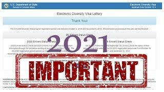 ОБРАЗОВАНИЕ в заявке участника лотереи грин кард США DV-2021