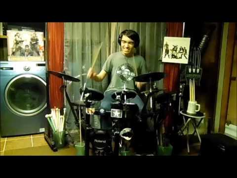 Huey Lewis & The News - Perfect World - Drum Cover