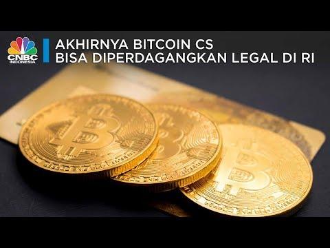Akhirnya, Bitcoin Cs Legal Di RI
