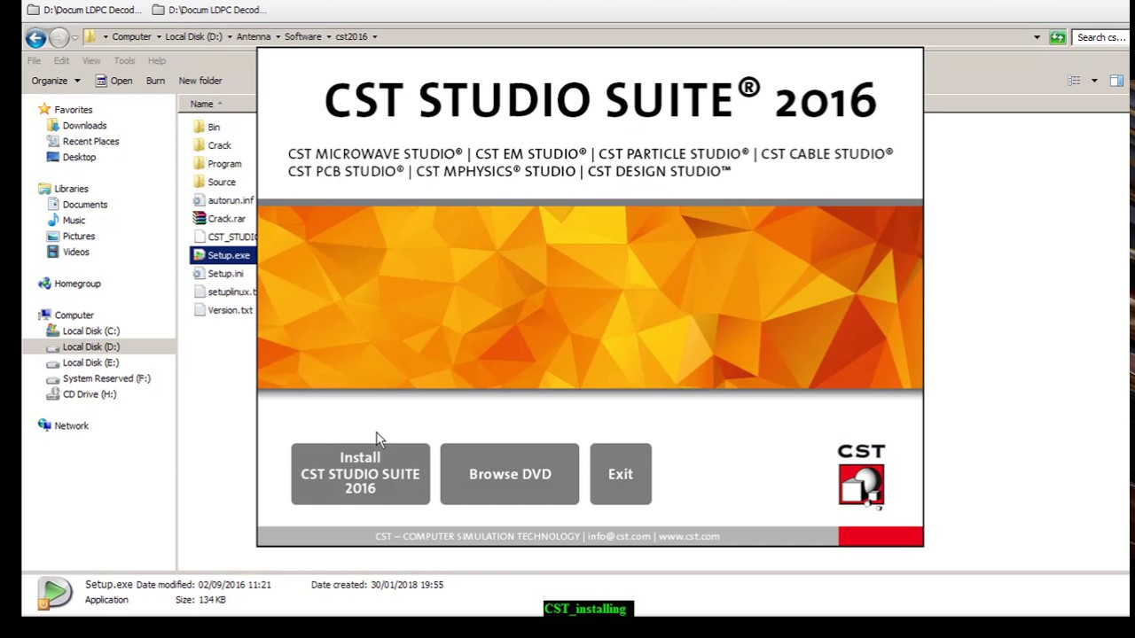 Cst Studio Suite 2016 Install And Crack Youtube