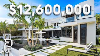 Inside a $12,600,000 Modern Mansion in Southern Florida! | Propertygrams Mansion Tour