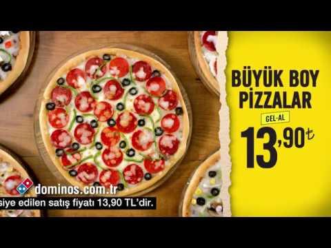 Aile Boyu Büyük Pizzalar Dominosta 1390a Youtube