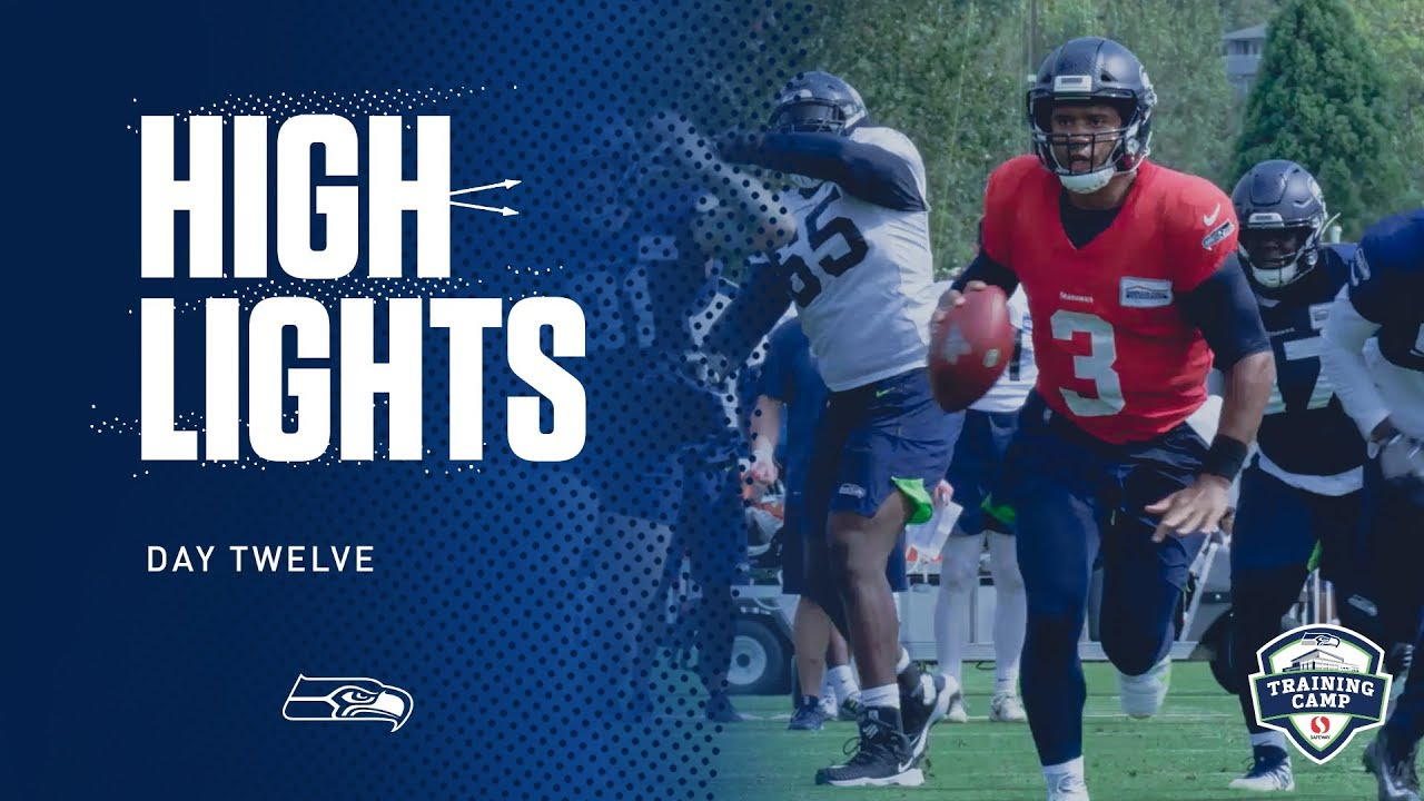 Seahawks 2019 Training Camp Day 12 Highlights