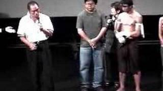 Tony Jaa VS Guts Ishimatsu July 18 2004,Ong Bak preview show@Shibua...