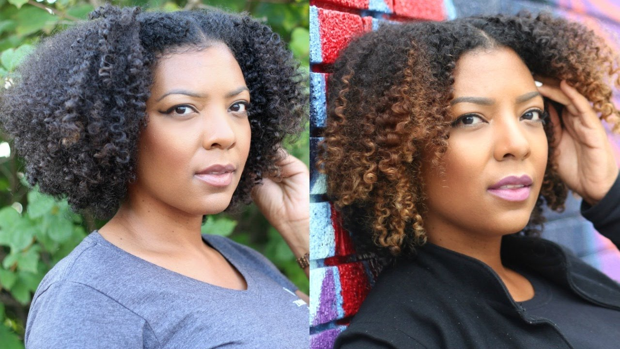Coloring My Natural Hair Honey Blonde With Revlon Frost And Glow