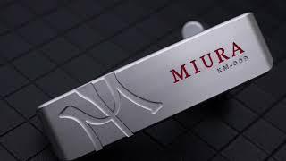미우라 퍼터 KM-009 /  스탠드 백 블랙
