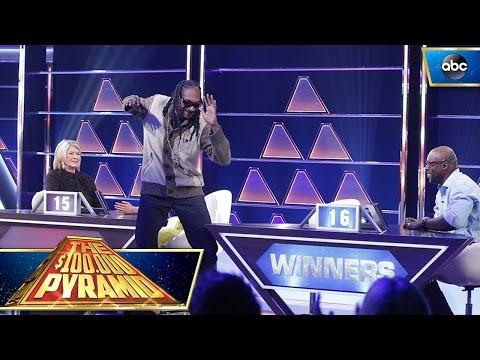 Snoop Dogg Dances To The Winner's Circle - $100K Pyramid