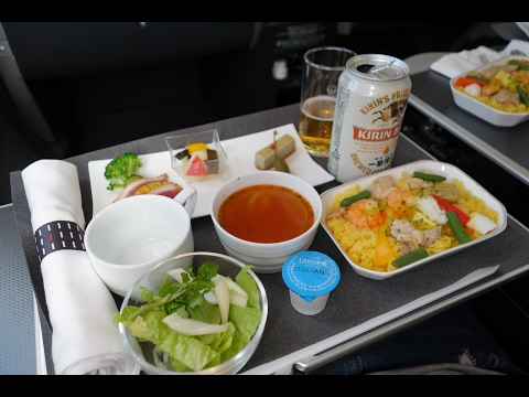 FLIGHT REPORT - JAL B787-8 BUSINESS CLASS review JL89 TOKYO to SEOUL トリップレポート - 日本航空 ビジネスクラスレビュ