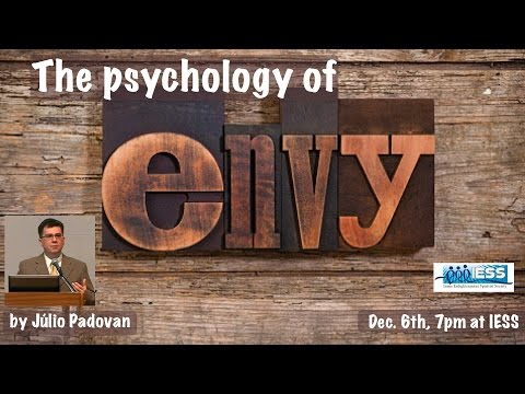"""The Psychology of Envy"" by Júlio Padovan"