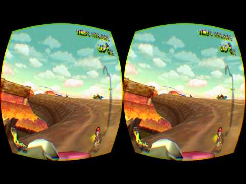 Mario Kart in VR with the Oculus Rift DK2 is the best thing ever