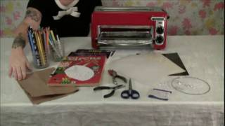 How to Make Shrink Plastic Jewelry and Accessories(Learn how to make shrink plastic jewelry and accessories. All it takes is some shrink plastic, colored pencils, scissors, a toaster and just a few other items., 2010-02-02T17:59:06.000Z)