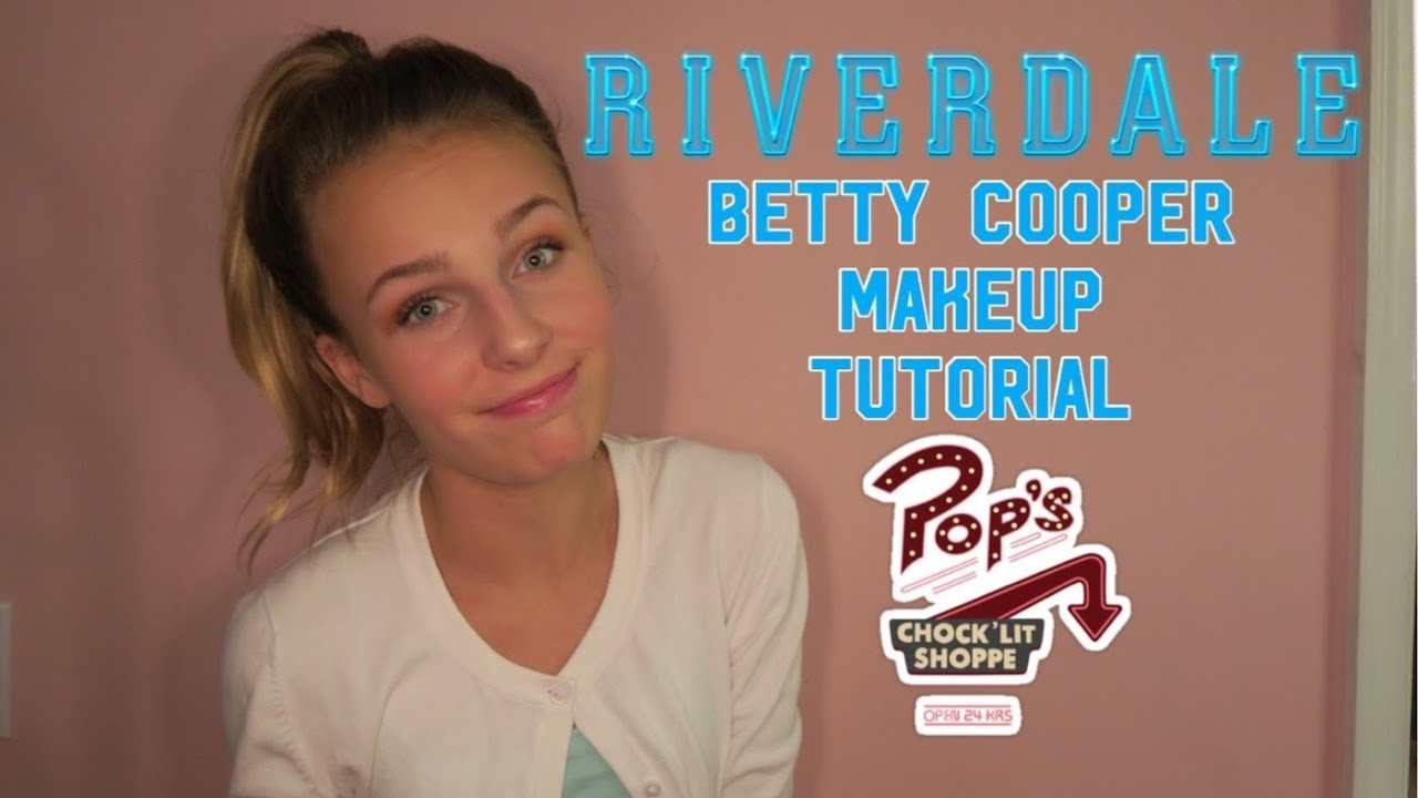 Riverdale Betty Cooper Makeup Tutorial Supersisters Youtube