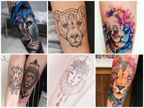 50+ Gorgeous Lion Tattoos Design Ideas