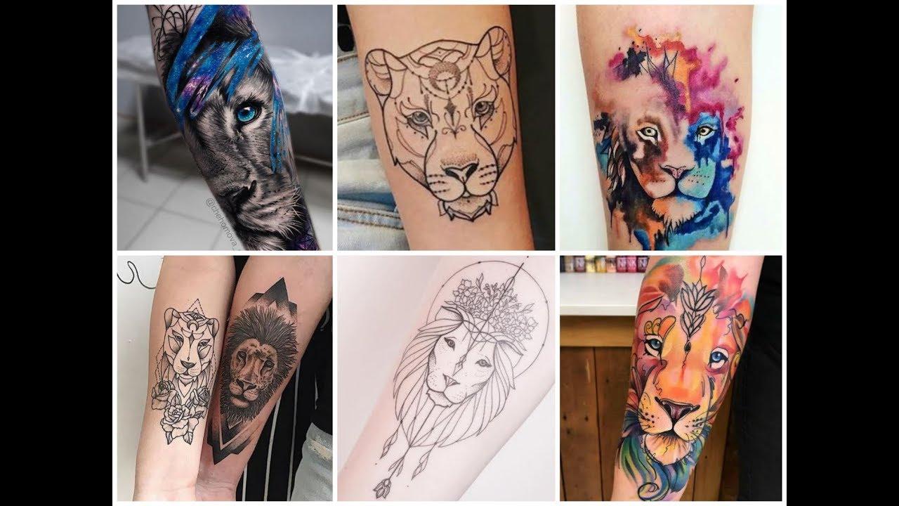 Lioness Tattoos: 50+ Gorgeous Lion Tattoos Design Ideas