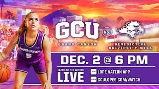 GCU Women's Basketball vs Benedictine  |  Dec. 2, 2020